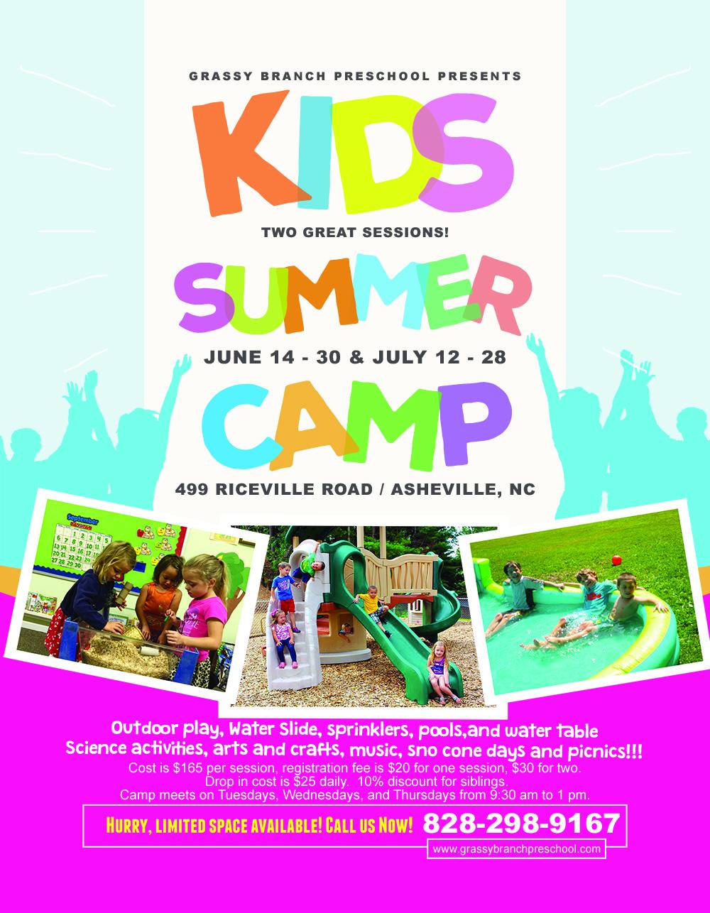 New Gbpreschool Summer Camp Poster