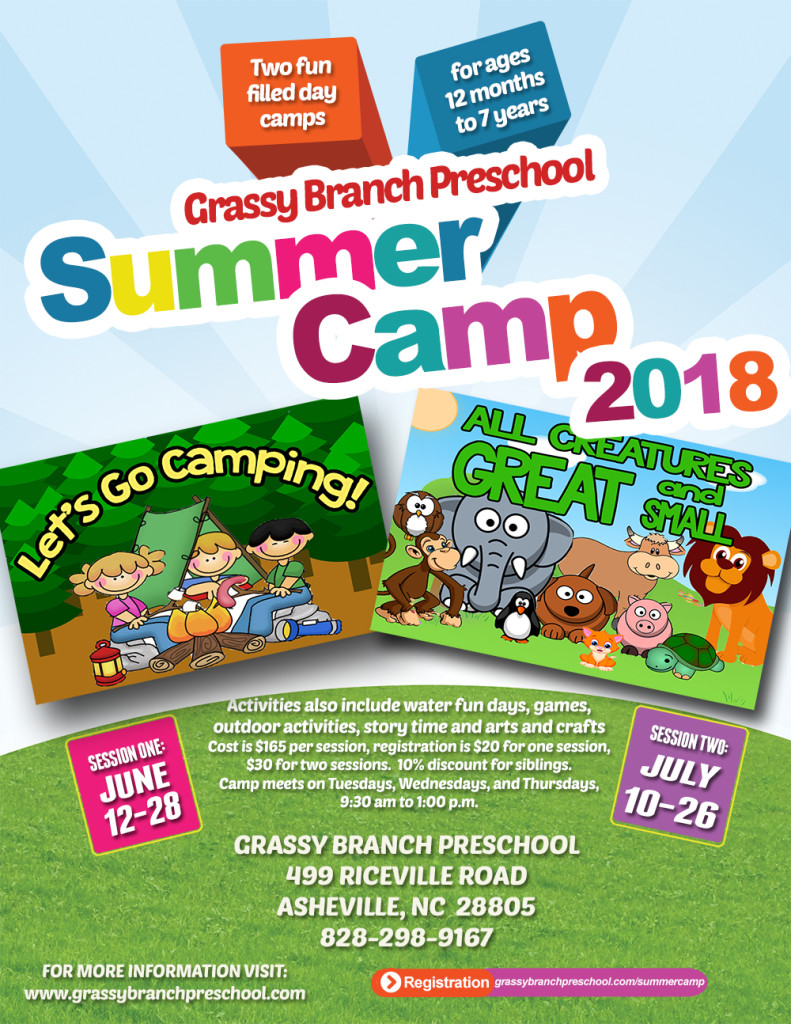 2018 GBP Summer Camp Poster for web